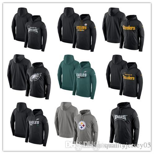 Men s New Sweater Pittsburgh Eagles Steelers Team Name Property Of ... 9a5bcc9a6