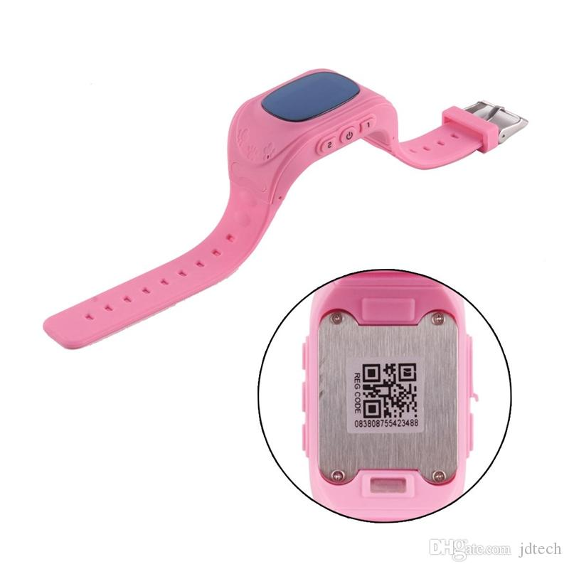 Q50 Smart Watch Phone Kid Safe LBS Tracker Wristwatch SOS Call Location for Children Baby Anti Lost LCD Watch With Pcakage Box