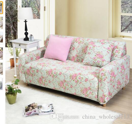 Homing Printed Couch Cover Protector Sofa Wrap Tight Elastic Spandex  Stretch Slipcovers All Inclusive Sofa Cover Aei 091 Affordable Chair Covers  Cheap Chair ...