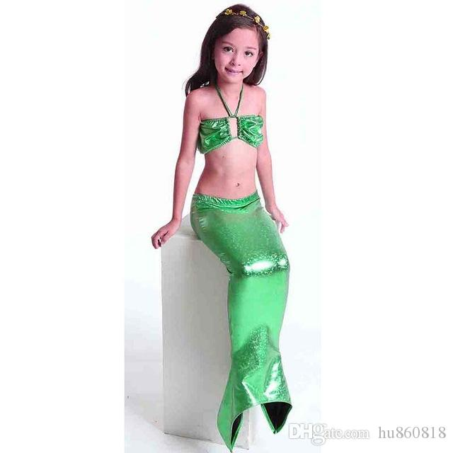9d29820968b 2019 3 12 Years Old Children Girls Mermaid Tail Costume Swimsuit Ariel  Little Baby Kid Mermaid Tails Bathing Suit For Girls Children From  Hu860818, ...
