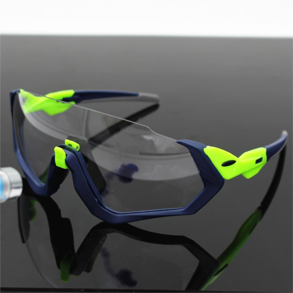 f5dd9aed96 2019 Flight Jacket Photochromic Lens Cycling Sunglasses Road Mountain Bike  Bicycle Galsses MTB Running Goggles Fishing Eyewear From Onecherry