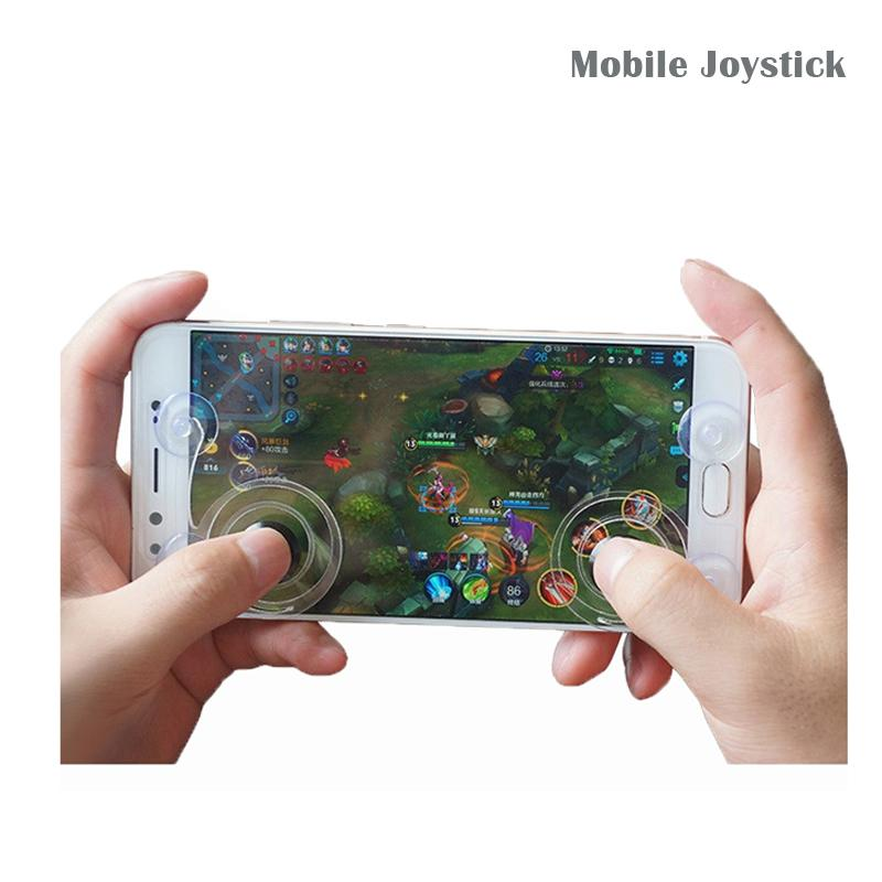 Universal Mini Ultra-thin Touch Screen Mobile Phone Joystick for Iphone Android Phones Arcade Games Controller Joystick