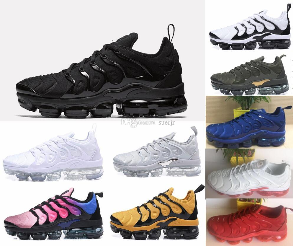low priced c6c7f 2ce56 Compre 2018 Cojines De Aire Plus Tn Mujeres Zapatos Para Hombres Zapatillas  De Deporte Casuales Zapatos Deportivos Al Aire Libre Trotar Senderismo  Deportes ...
