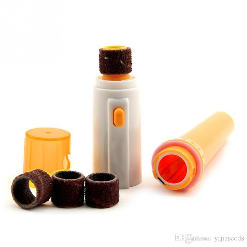 Elettrico domestico zampe smerigliatrice Trimmer Clipper Cane Gatti Grooming Rettifica indolore portatile di plastica Nail File Kit Drop Shipping