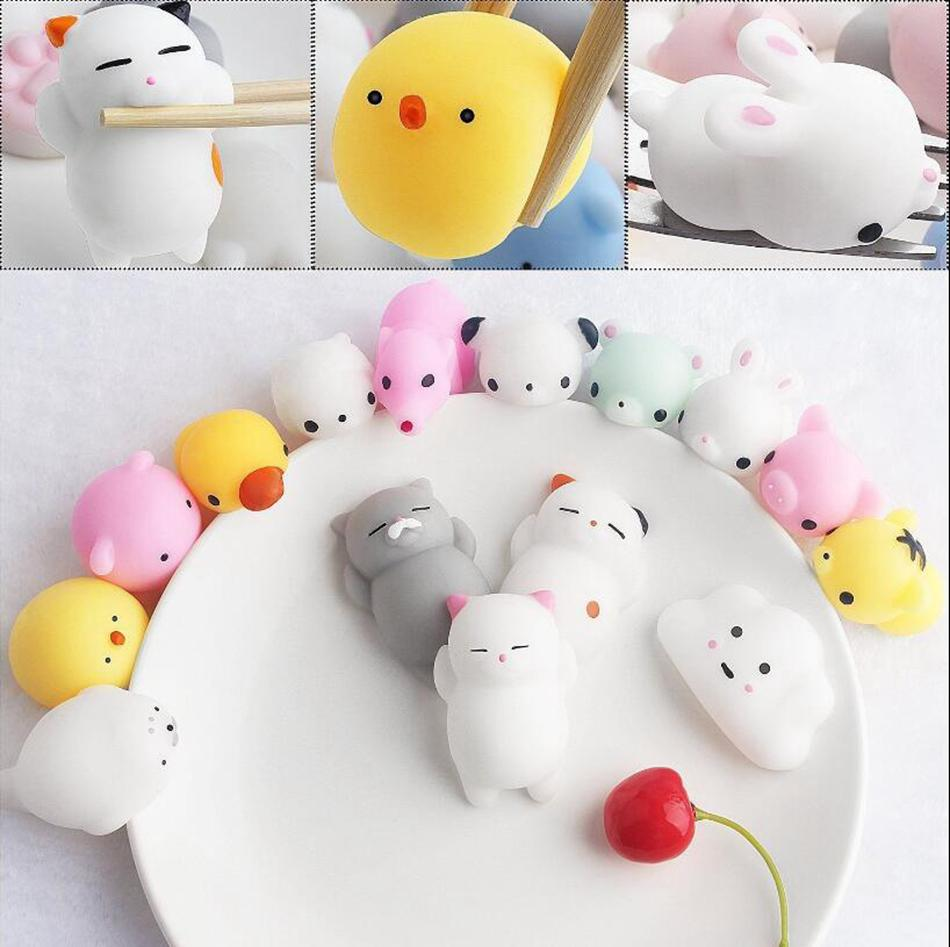 Image of: Design Vector Cheap Adult Stress Toys Best Best Autism Toys Dhgate Kawaii Animals Mochi Squishy Stress Toy Relief Animal Squishies Mini