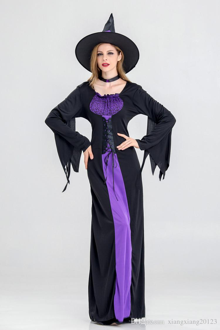 european and american halloween new witch costume,new halloween