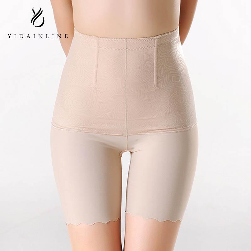45dd208d16e 2018 Hi Waist Shapewear Tummy Control Body Shaper Slimming Boyshort  Seamless Underwear For Women Plus Size From Buttonhole