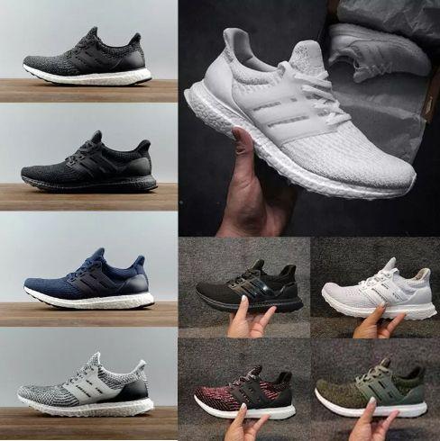 High Quality Ultra 3.0 4.0 Running Shoes Men Women Ultra Boots 3.0 III Primeknit Runs White Black Sports Sneakers 36-45 free shipping wholesale price EEovxJxkAb