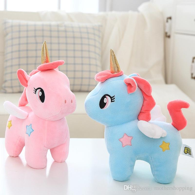 2019 Hot Kawaii Plush Toy Soft Unicorn Doll Appease Sleeping Pillow
