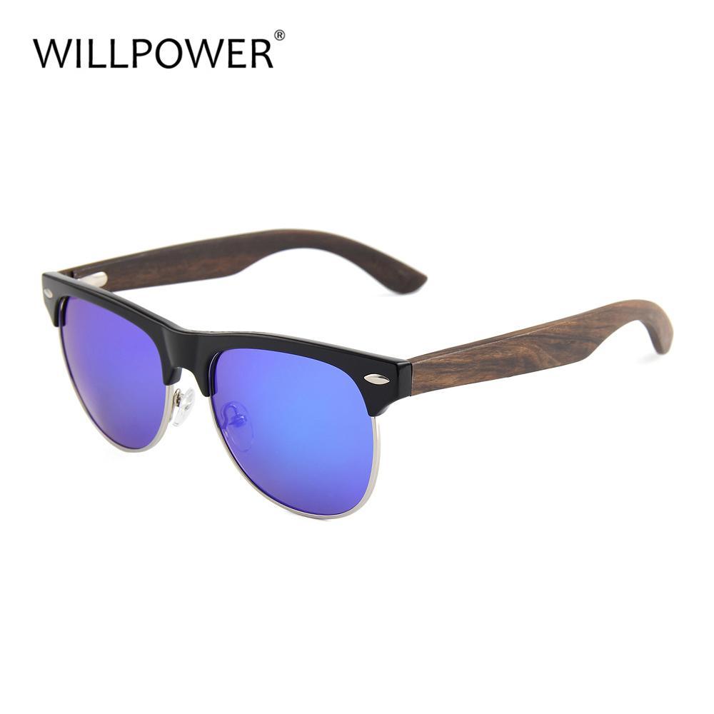 69889785cebf WILLPOWER Fashion Bambu Sunglasses Oculos De Madeira Men Women Wooden Sun  Glass Retro Vintage Polarized Eyewear Wood Glasses C18110201 Sports  Sunglasses ...