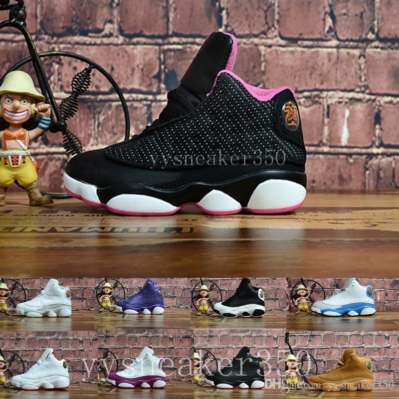 Compre Nike Air Jordan 13 Aj13 Retro Infantil Menino Preto Menina 13 S  Criados História De Vôo Crianças Tênis De Basquete HOF Crianças Athletic  Sports ... d10079fe54caa