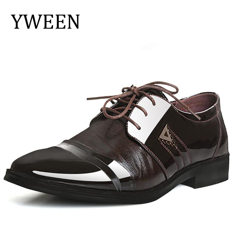 YWEEN Brand Men S Dress Shoes Men Business Flat Shoes Competitive Price Breathable  Men Formal Office Shoes Plus Size 38 47 Pumps Shoes Slippers For Men From  ... ce94df81beb9