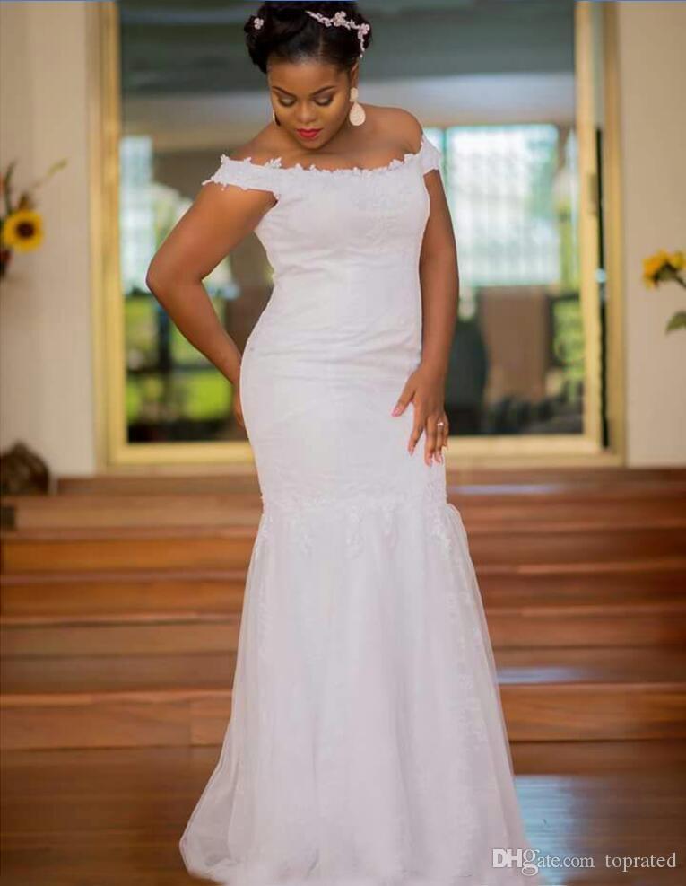 compre 2018 vestidos de novia con encanto fuera del hombro de la
