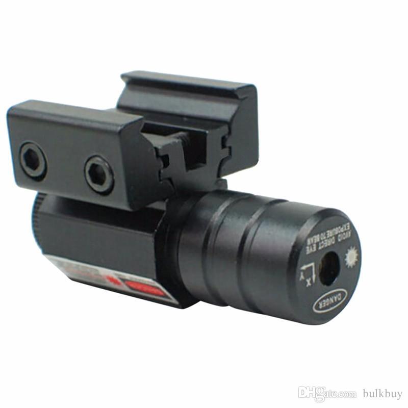 Roter dot-Laser-Anblick für Pistole einstellen 11mm20mm Picatinny-Schiene für Huntiing 50-100 Meter Reichweite 635-655nm