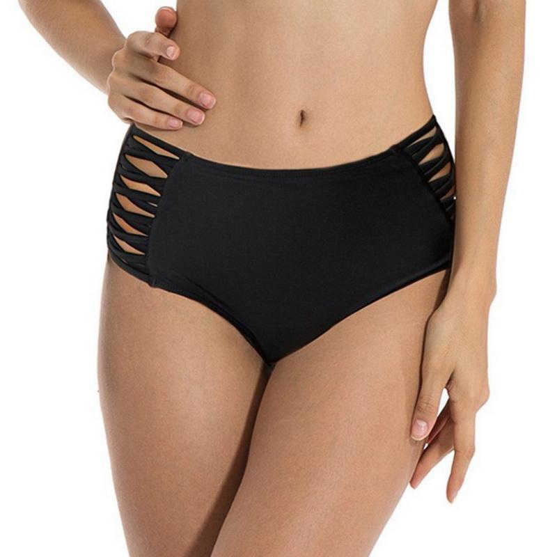 6989738785ce Vertvie Bikinis Bottom 2018 Braguitas de natación sexy tanga Bikini de dos  piezas separa bañadores cruzados Tanga de mujer bañadores