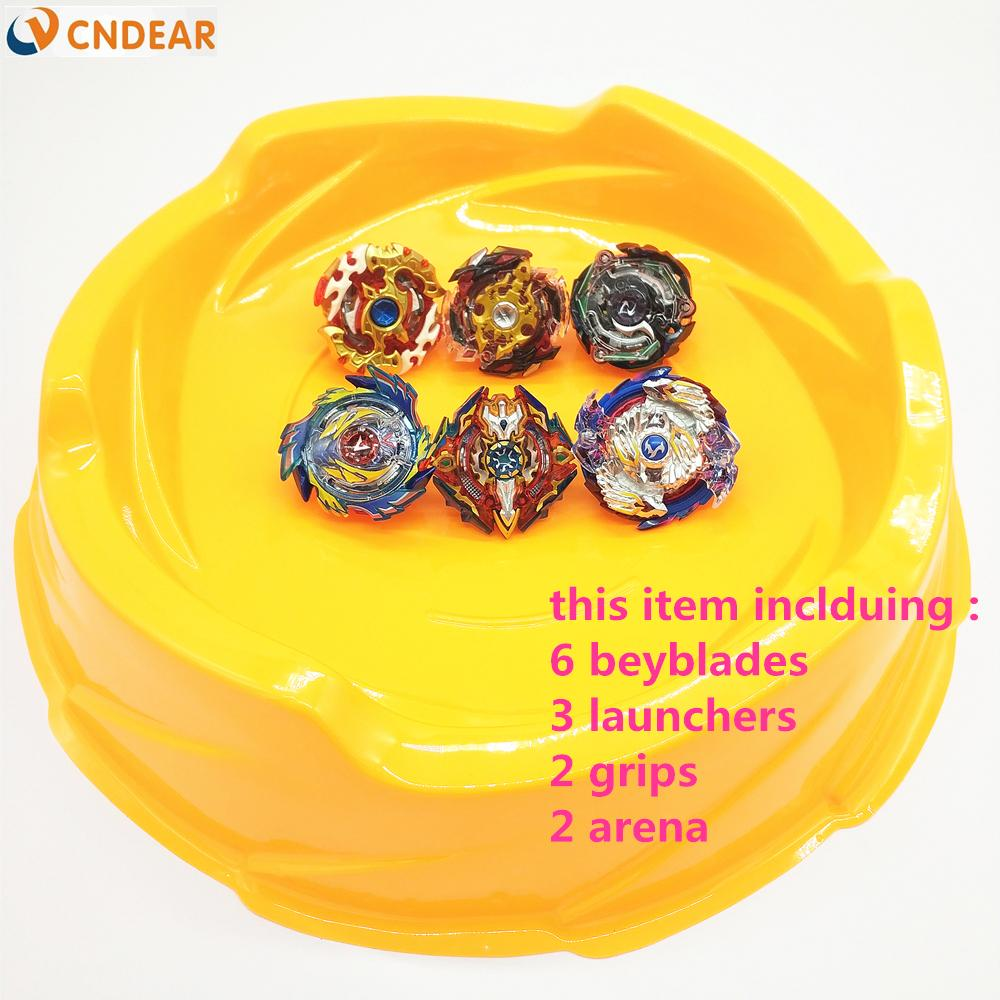 arena beyblade  Beyblade Arena Orange Stadium Beyblade Burst With Launcher Handles ...