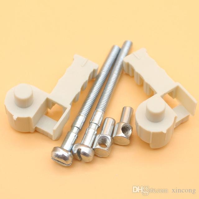 2 Sets Chain Tensioner Adjuster Screw For Stihl Chainsaw 017 018 MS170  MS180 MS 170 180 Replace 1120 664 1500 / 1123 664 1605