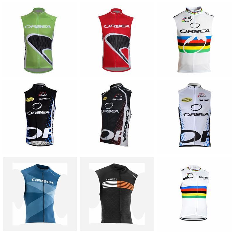 0d33c4087 ORBEA QUICK STEP Team Cycling Sleeveless Jersey Vest Bicycling Wear 2018  Summer Men Wear Resistant Bicycle Jersey Great Value 92644X ORBEA QUICK  STEP ...