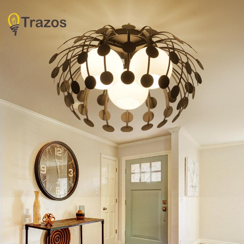Moderne LED SimpleCeiling Lichter Lampe für Wohnzimmer Glanz Deckenleuchten  Decke schöne Laterne Armaturen