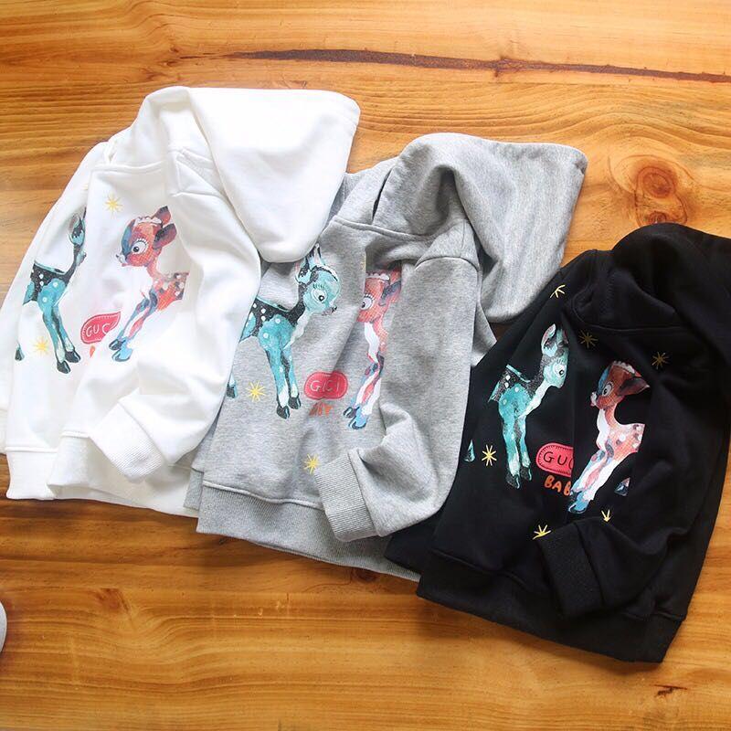 f1bd43353 2019 HOT Children Logo Print Cotton Sweatshirt Cartoon Printing Girls And Boys  Hoodie From Babyworld1228, $36.18   DHgate.Com