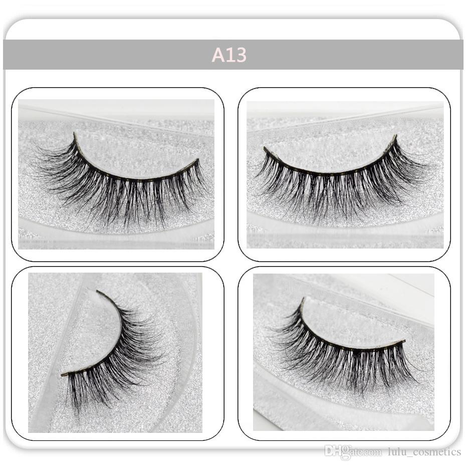 1pair 100% Real Mink Hair 3d Volume Crisscross False Eyelashes Fluffy Cruelty Free Wispy Long Eyes Lashes Extension Makeup Tools High Quality Materials Beauty Essentials