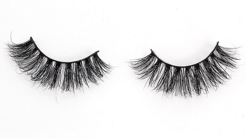 MA14 3D mink eyelashes 3D Handmade Mink Eyelashes individual Natural False Eyelashes for Beauty Makeup fake Eye Lashes Extension
