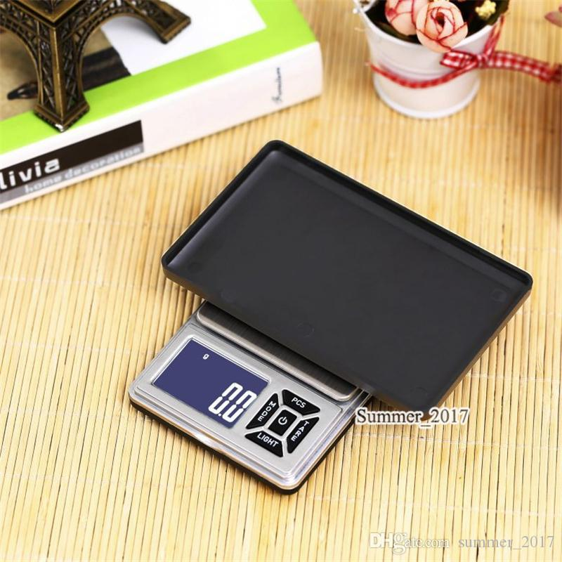 2018 Newest Mini Electronic Pocket Scale 200g 0.01g Jewelry Diamond Scale Balance Scale LCD Display with Retail Package