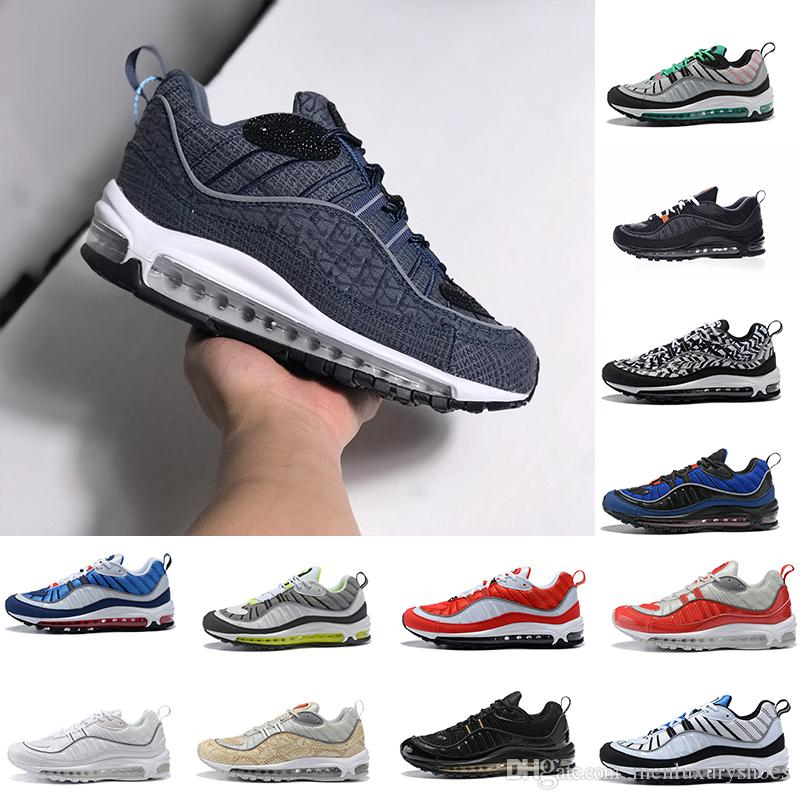 f7b541011aefbd Mens Designer Running Shoes 98 98s OG Gundam Triple S Black White Cone Tour  All Over Print Men Cushion Sports Trainers Sneakers US 7 12 Men Running  Shoes ...