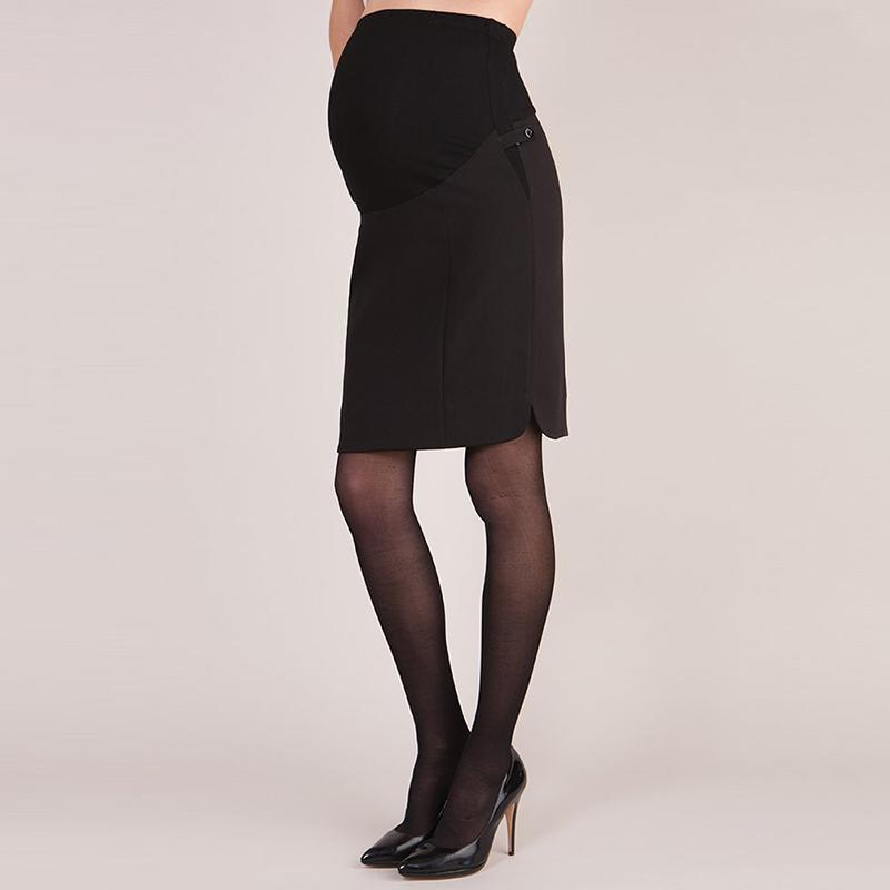 2019 Elegant Women Skirts 2018 Summer Sexy Lady Slim Pencil Mini Skirt  Office OL Elastic High Waist Casual Black Skirts Plus Size 5XL From Yukime,  ...