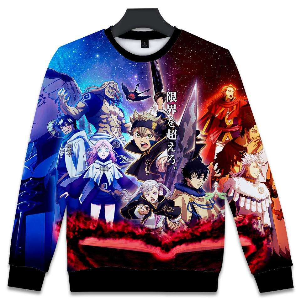 2019 2018 black clover 3d print anime capless funny print women men fashion sweatshirt hoodies cartoon clothes 4xl from lvyou09 21 82 dhgate com