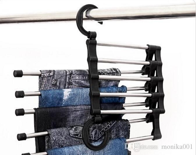 Magic telescopic Trousers rack multipurpose trousers hanger