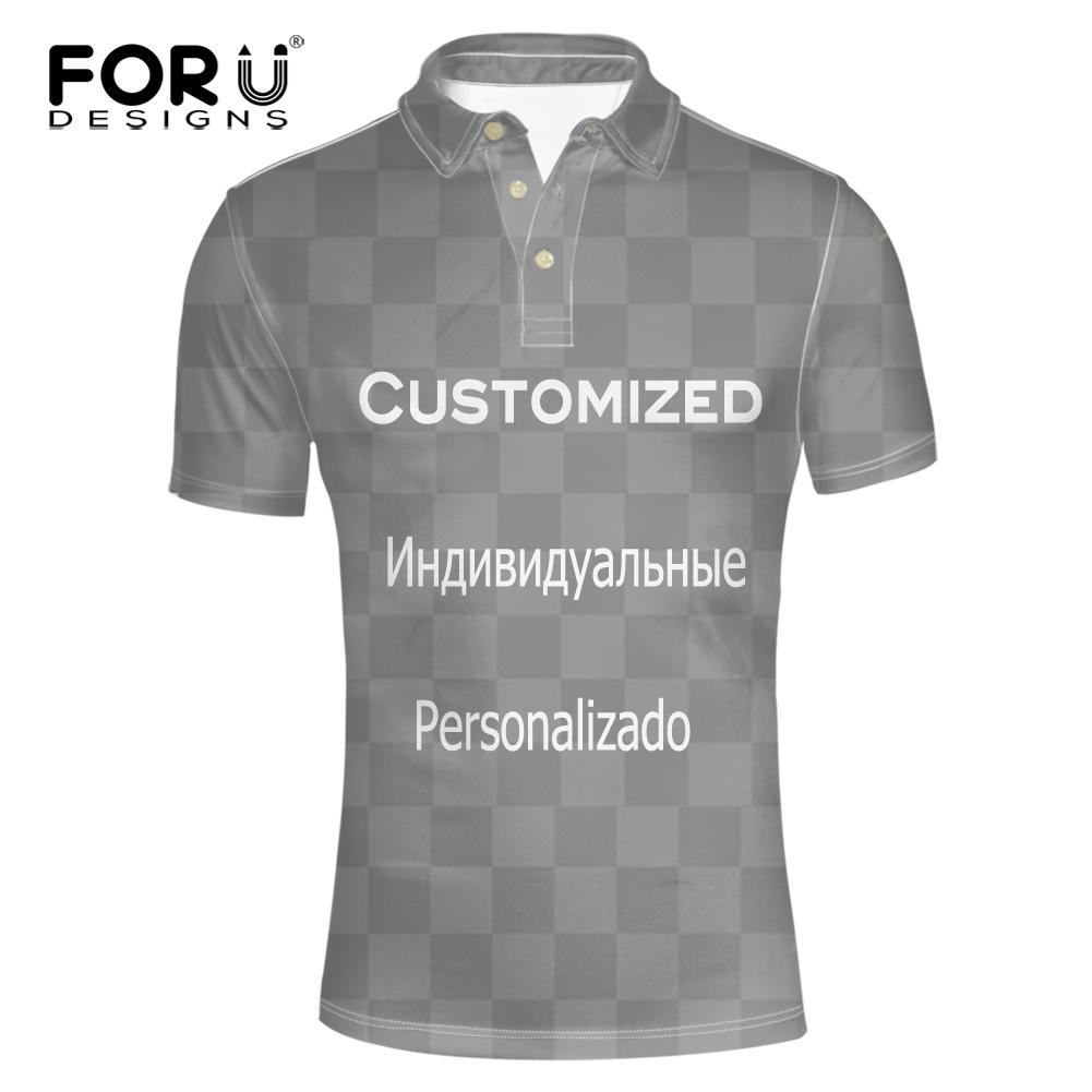 2019 Wholesale Customized Your Image Or Logos Mens Polo Shirts