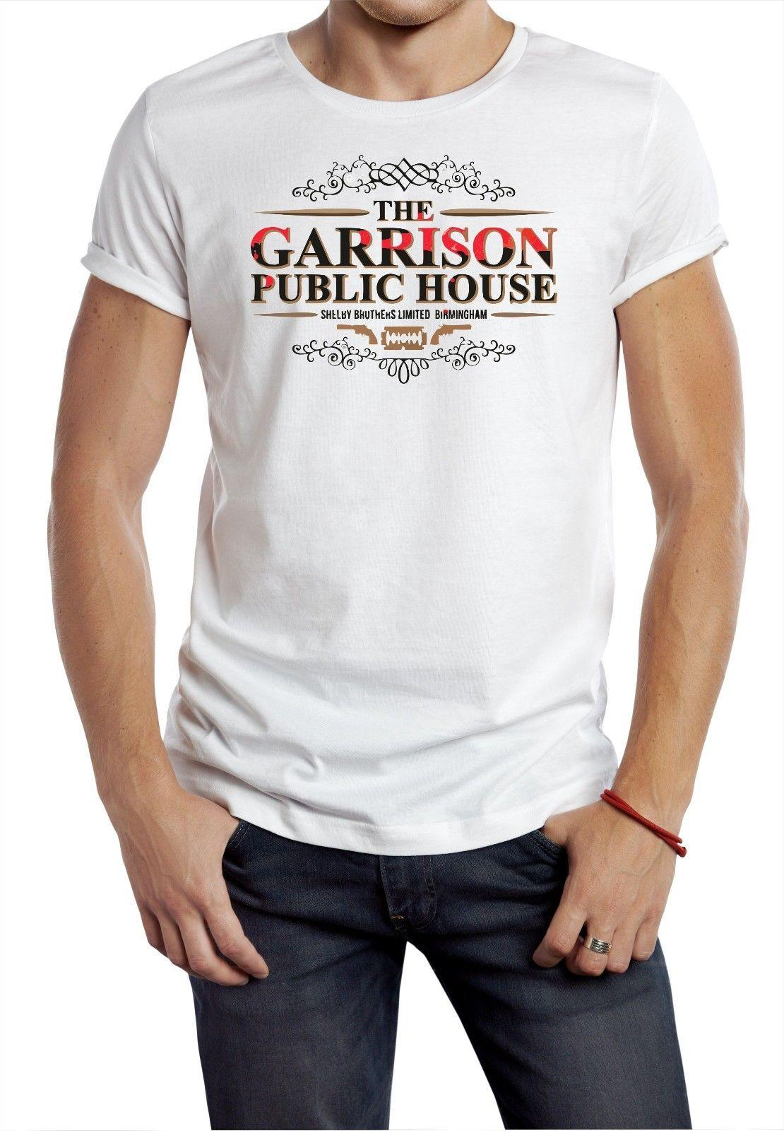 fd2c61aa THE GARRISON T SHIRT PUBLIC HOUSE PEAKY BLINDERS TV TEE GANGSTER BIRMINGHAM  W T Shirt Shirt Designs T Shirt Shop Design From Allthingsgood, $11.01|  DHgate.