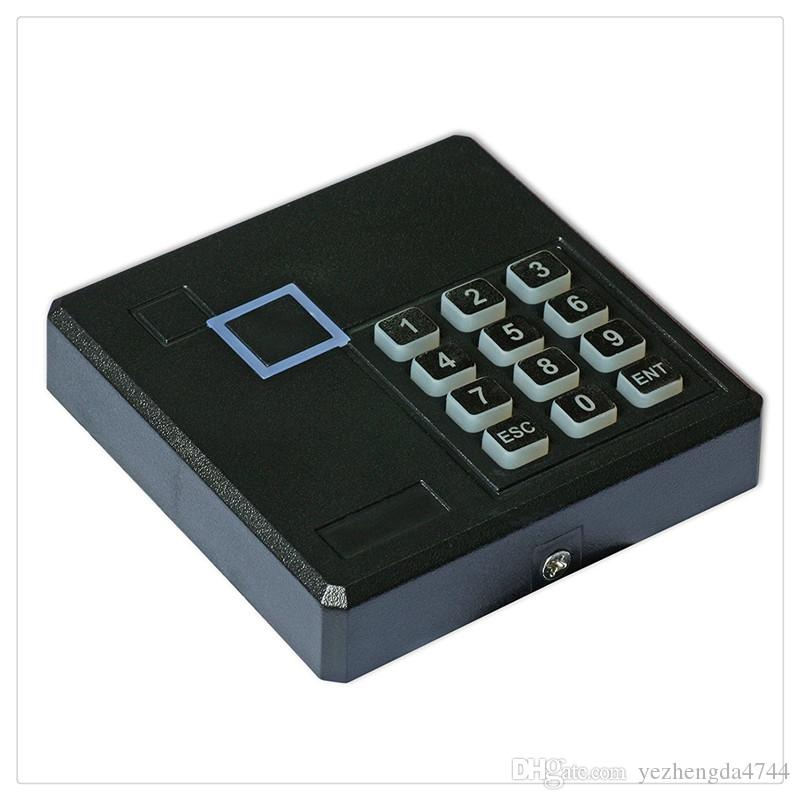 New Generic Weatherproof 125KHz Wiegand 26 26bit Access Control Keypad RFID Reader Color Black High Quality Hot Sale
