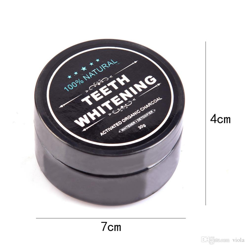 2018 Tooth Whitening Nature Bamboo Activated Charcoal Smile Powder Tooth Yellow Stain Bamboo Toothbrush Toothpaste Oral Care
