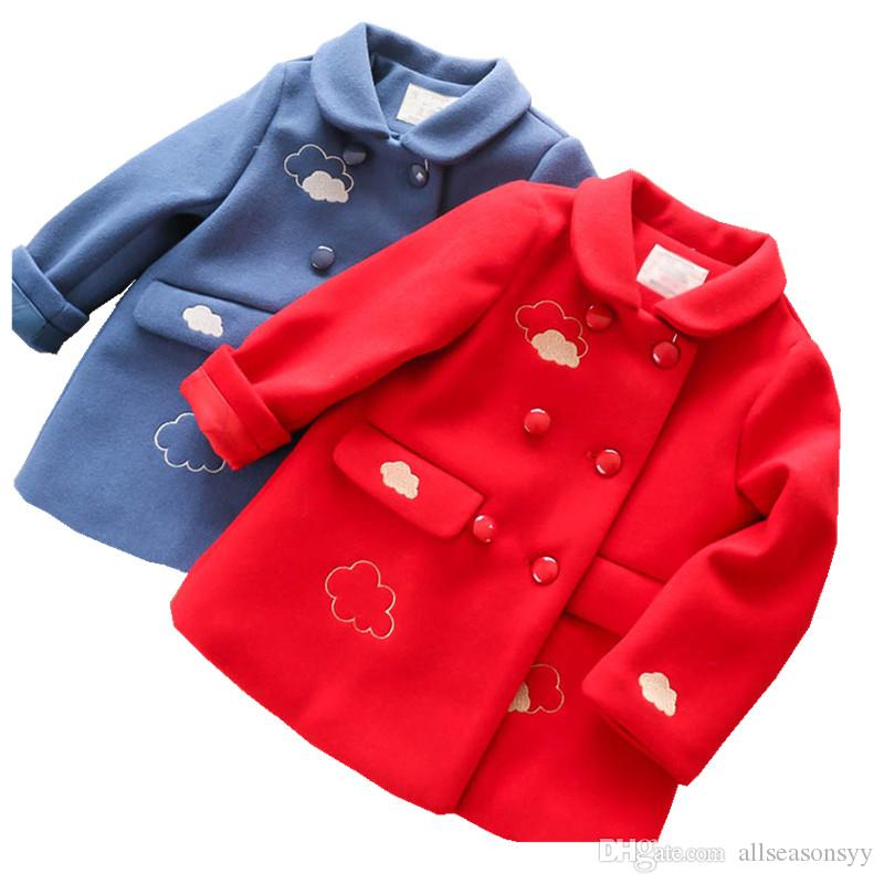 9c4a8f668 Autumn Winter Jackets Girls Coat Kids Jacket For Girls Christmas ...