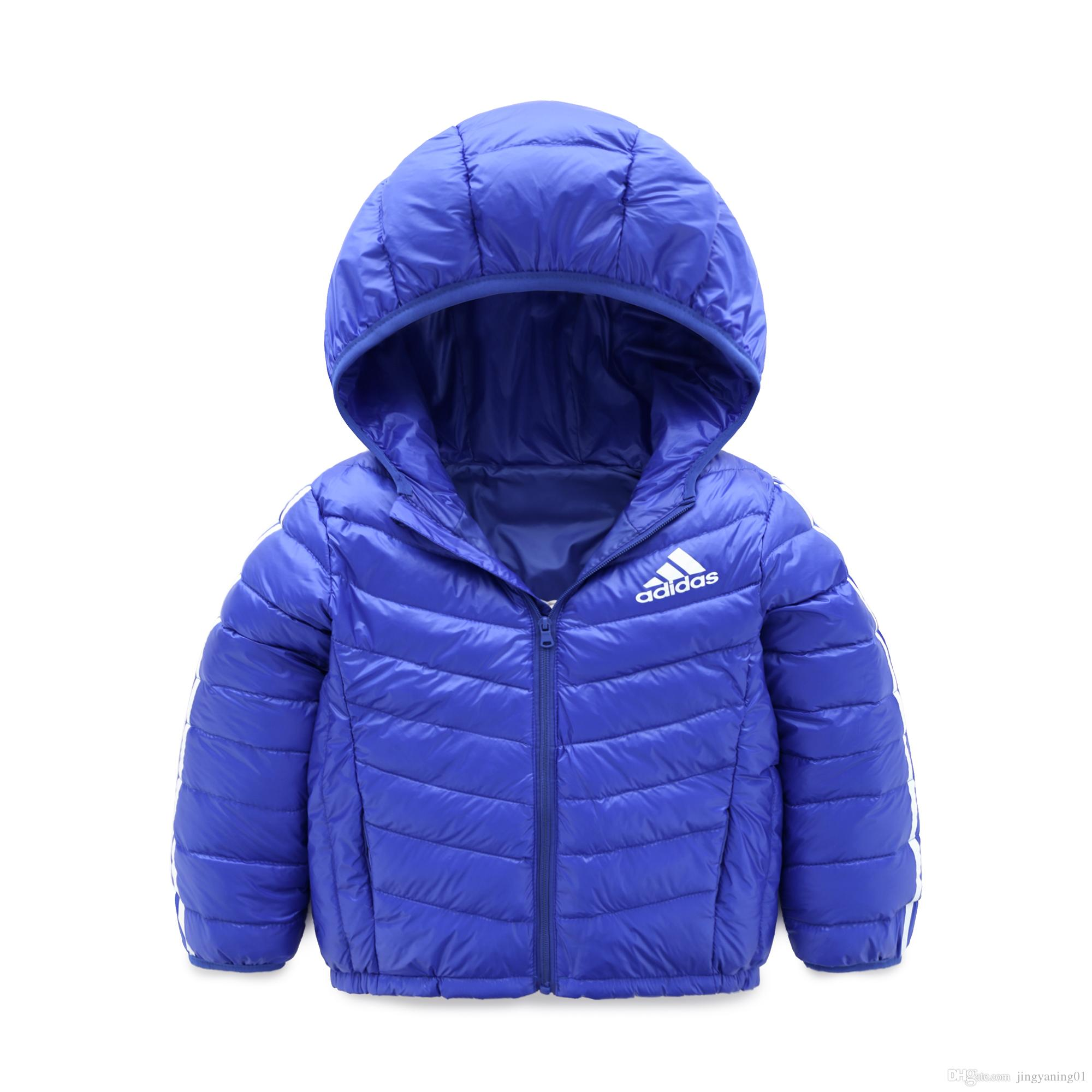 f29c58c9d1cf T888 Baby Boys Jacket Winter Jacket For Girls Jacket Kids Warm Hooded Pure  Color Infant Boys Coat Children Outerwear Clothes Down Coats For Kids Boys  Down ...