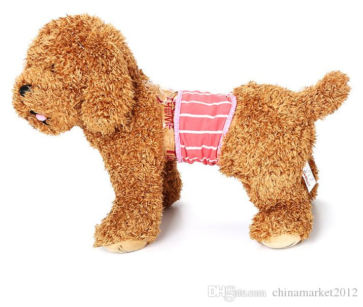 male Pet Dog Cotton Physiological Strap Tighten Sanitary Diapers Underwear for Pet Dogs Pigs Cats pet dog short pants Drop Shopping