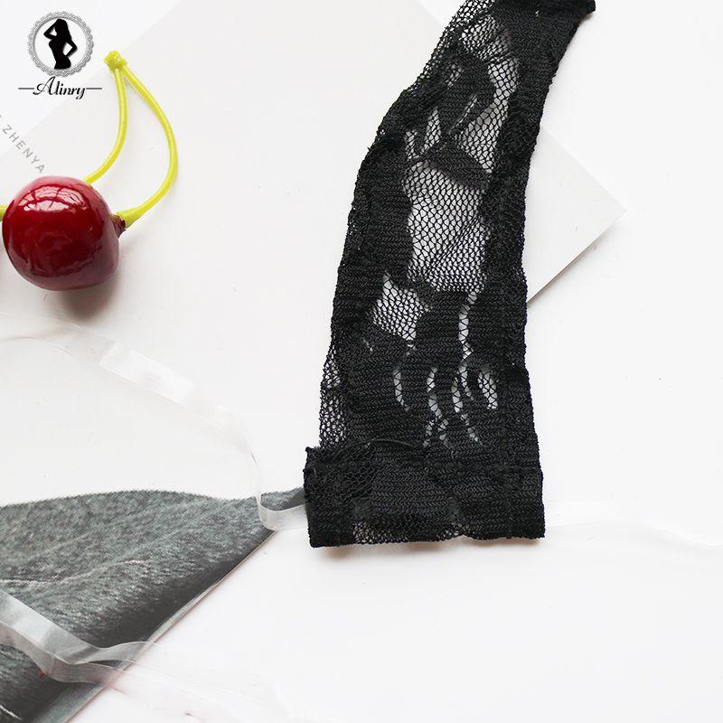 ALINRY Sexy Lingerie Ensemble Dentelle Femmes Transparent Érotique Mini Bikini Costume Sous-Vêtements Halter Exotique Vêtements Porno Lenceria Chaud