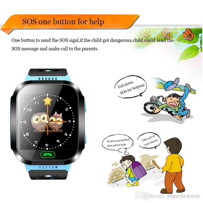 Q528 Smart Watch Children Wrist Watch Waterproof Baby Watch With Remote Camera SIM Calls Gift For kids OTH913