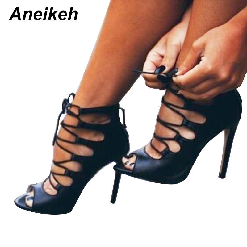 Romana Correa Aneikeh Zapatos Cruzada De Compre Para Con Sandalias I7gTq