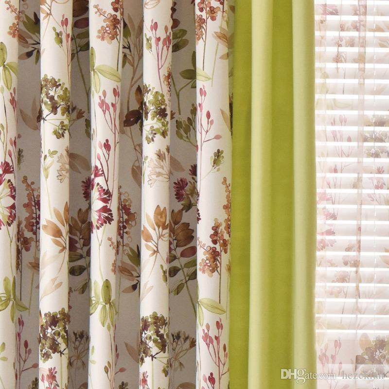 2018 Curtain Blackout Velvet Cotton And Linen Stitching Simple Modern  Living Room Bedroom Screens From Hezekiah, $15.48 | Dhgate.Com
