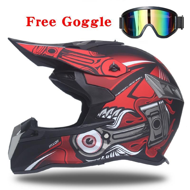 New Moto Cross Casco Casque Capacete Off Road Motorcycle Helmet Dirt