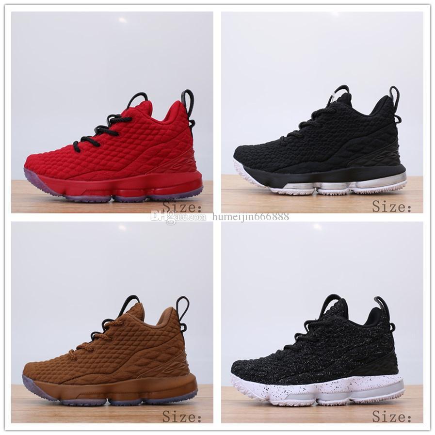 detailed look 7e1bd 85500 Lebron 15 Koop Nike Lbj15 Low Kids schoenen TKul3cFJ1