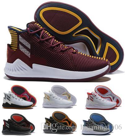 watch 5c28d 7d265 Acheter Nouveau D Rose 9 Air Basketball Chaussures Hommes Homme Violet  Derrick Rose 9s Designer Runners 2018 Mode Classis Sport Bottes Formation  Sneaker ...