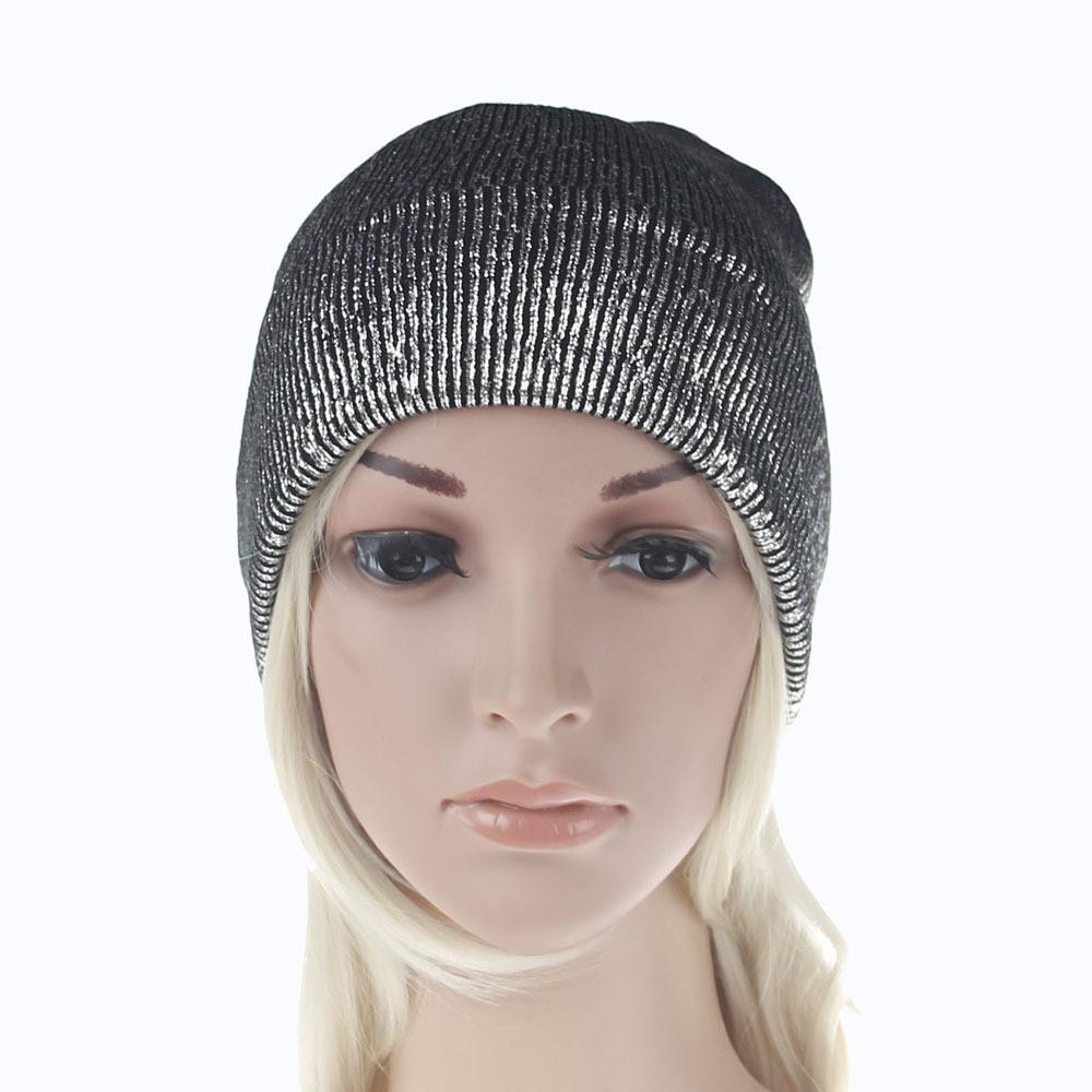 0fbbd47c939 2019 Feitong Fashion Women Men Caps Winter Warm Knit Crochet Ski Gold  Bonnet Hot Sale Hat Braided Turban Headdress Purple Cap From Hcaihong