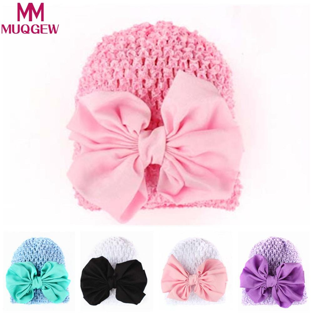 253123eafc4 2018 Soft Hats for Newborn Girls Baby Hats Baby Caps Spring Cotton ...
