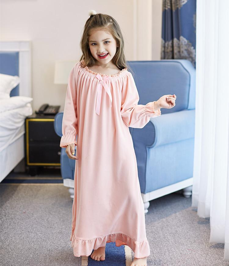 eaedd49aa Nightgowns For Girls Nightgown Kids Nightgowns Children Girls Sleep ...