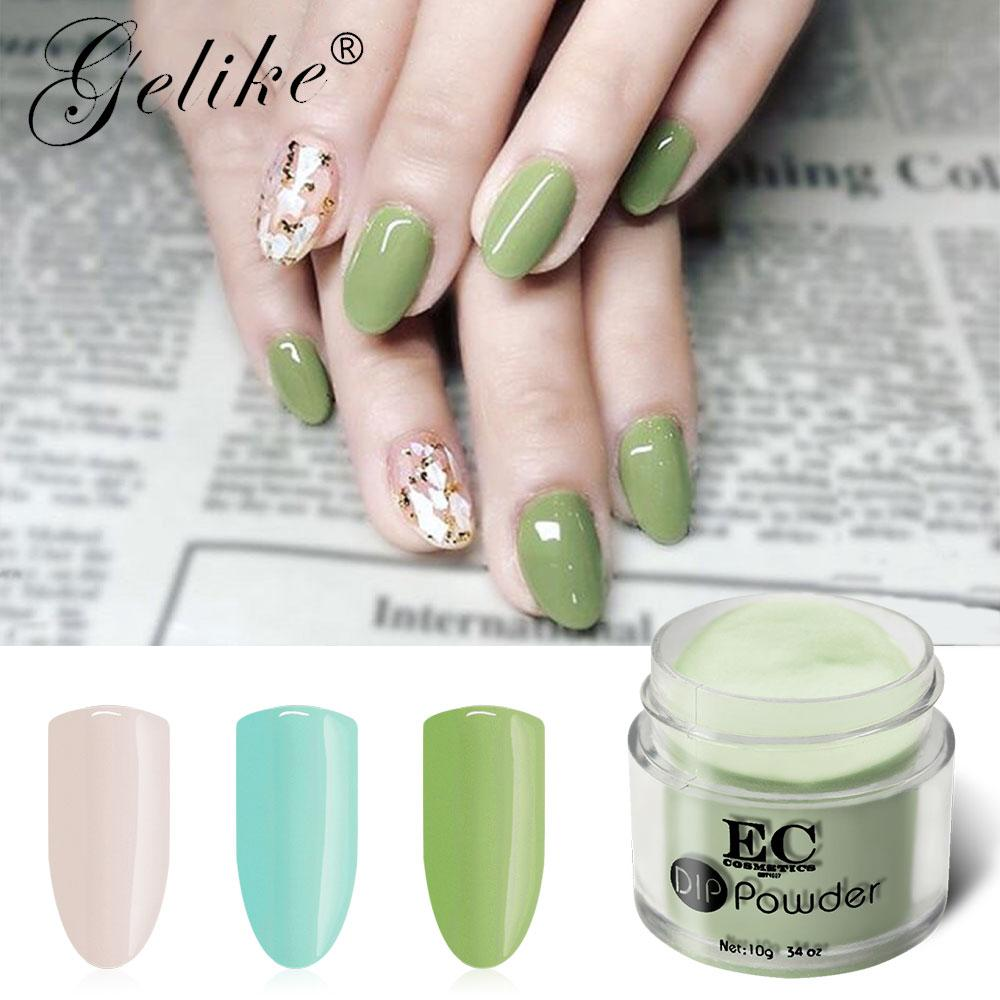 Acrylic Nails Dip Powder Gel Polish Manicure Chrome Dipping Nail ...