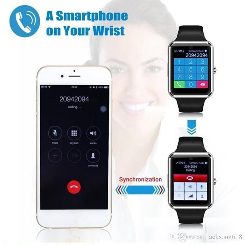 Bestselling Smart Watch GT08 Clock With Sim Card Slot Push Message Bluetooth Connectivity Android Phone Smartwatch GT08